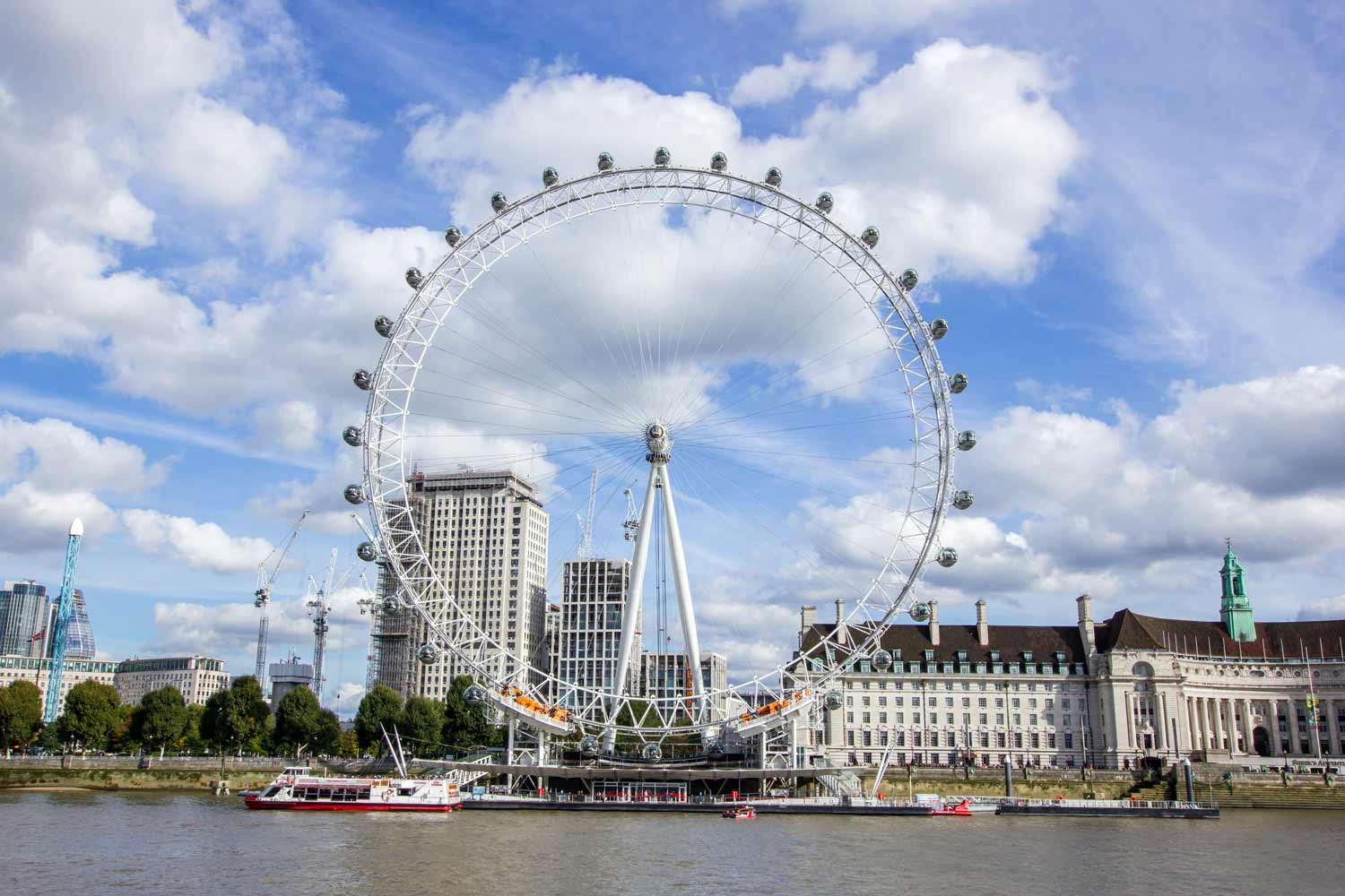 Iconic London eye, London United Kingdom