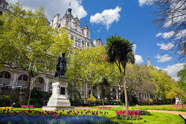 Embankment Gardens London