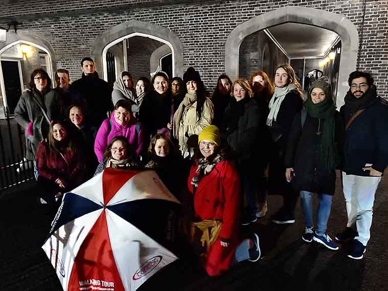 Ghost Haunted History Tour Group Photo