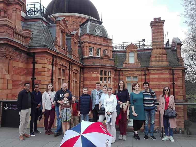 Greenwich Tour Group Photo