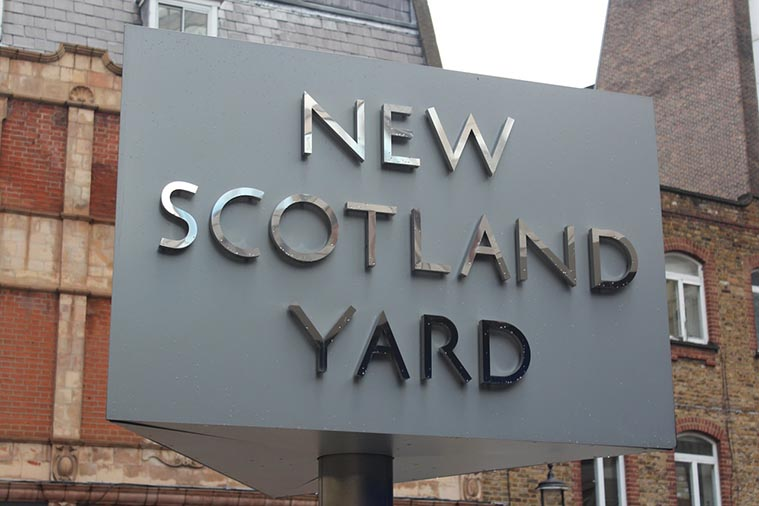 New Scotland Yard London