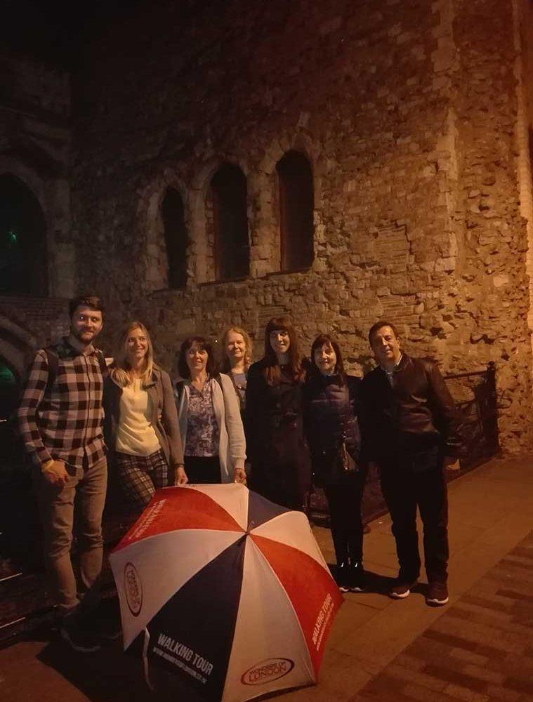 Night Tour Group Photo