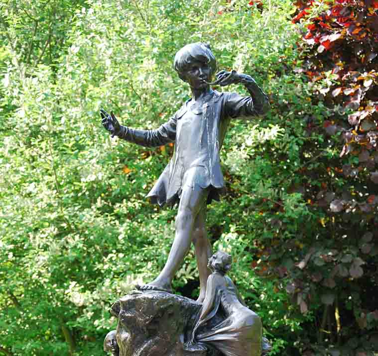 Peter Pan Statue London