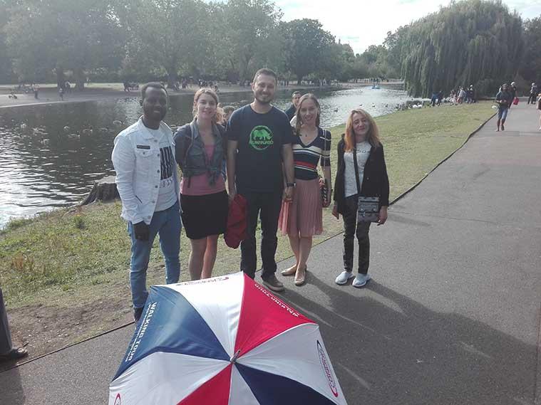 Primrose Regents Park Tour Group Photo