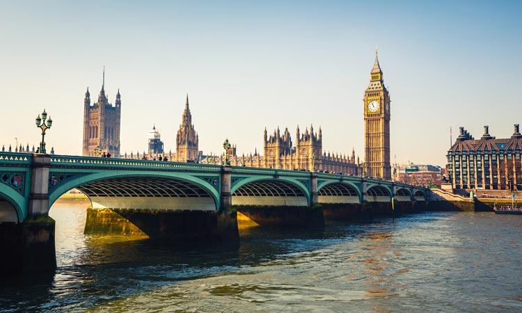 Westminster Big Ben Londra