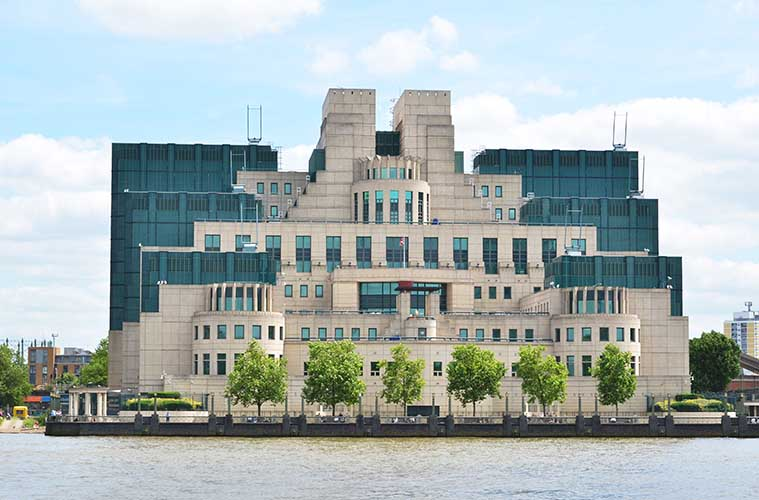 Secret Intelligence Service MI6 London