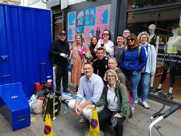 Street Art Tour Foto Gruppo