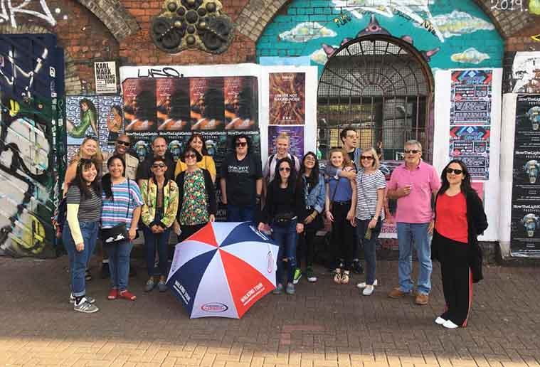 Street Art Tour Group Photo