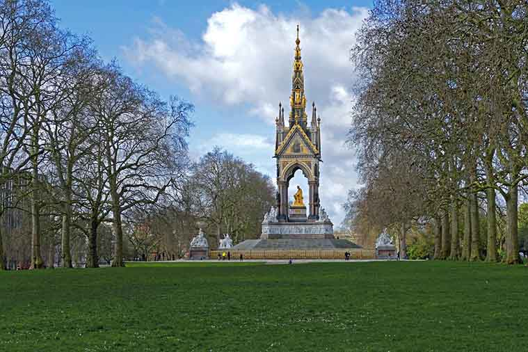 The Albert Memorial London