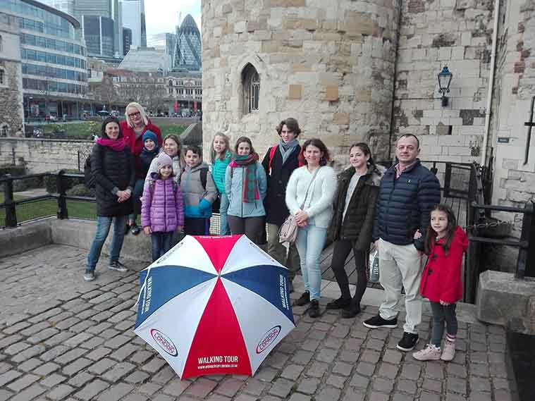 Tower Walk Tour Group Photo