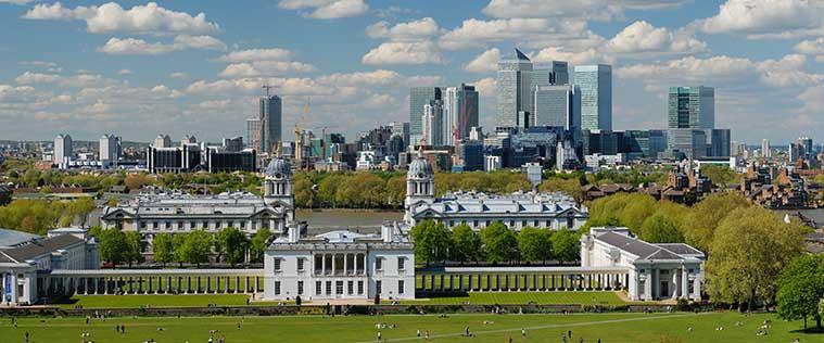 View Greenwich London