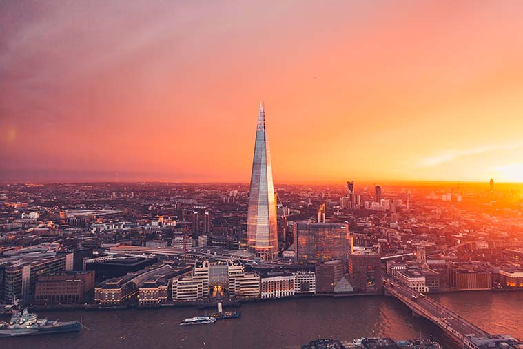 View Shard London