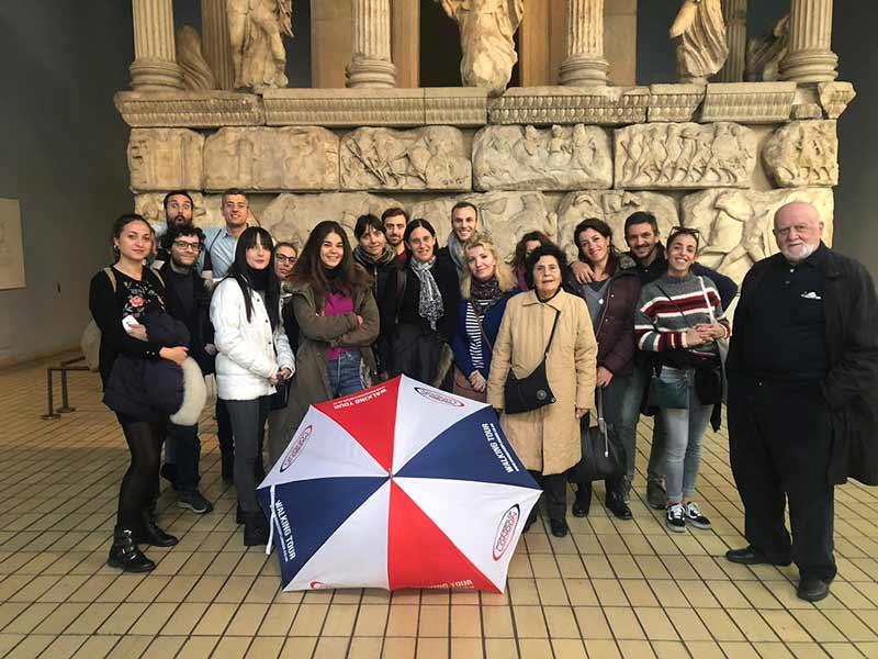 partecipanti al british tour visita guidata