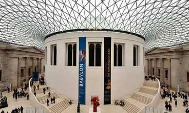 photo of the free museum british museum