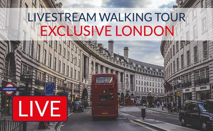 Exclusive London Livestream Tour