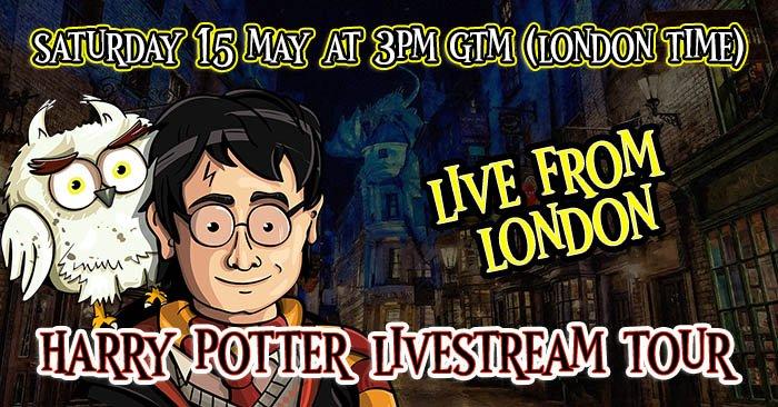 Harry Potter Livestream Tour