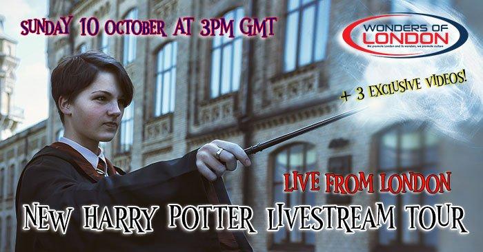 Harry Potter Livestream Tour London