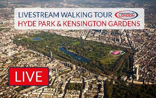Hyde Park Kensington Gardens Livestream