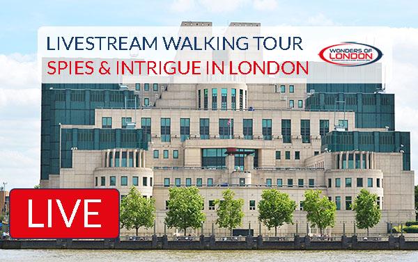 Spies Intrigue London Livestream