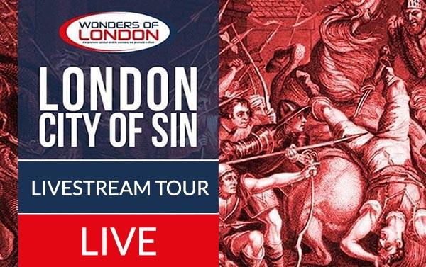 City of Sin London Livestream Tour