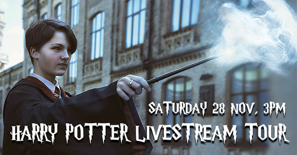 Livestream Tour Harry Potter