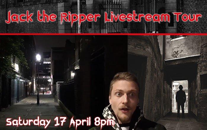 Livestream Tour Jack the Ripper