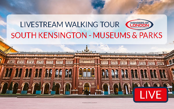 South Kensington Parks Livestream Tour