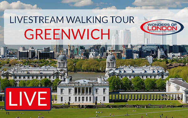 Livestream Tour Greenwich London