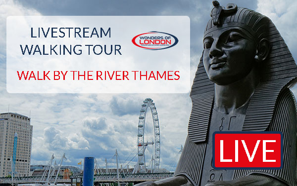 Livestream Tour Walk River London