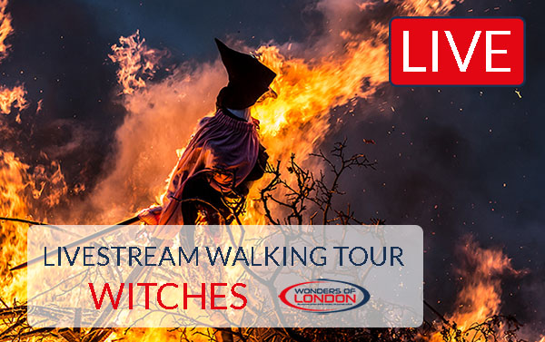 London Livestream Tour Witches