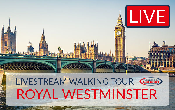 Livestream Westminster Tour London