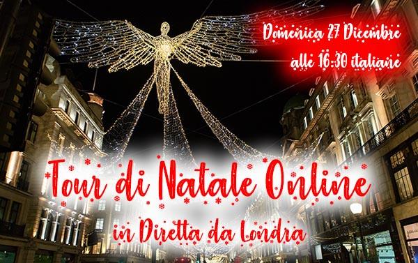 Londra Tour Natale Online