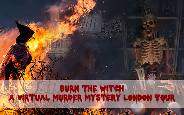 Mystery Murder Tour Burn the Witch
