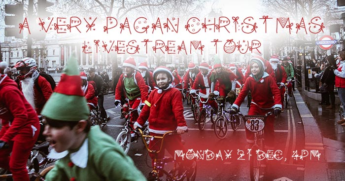 Pagan Christmas Livestream Tour