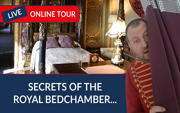 Secrets of the Royal Bedchamber Online Tour