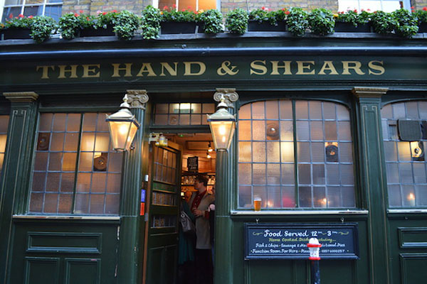 The Hand and Shears Pub London