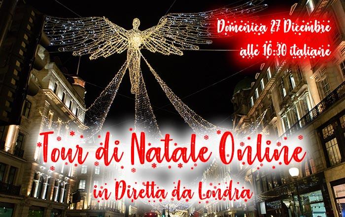 Tour Natale Online Londra